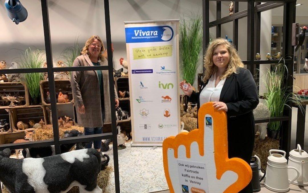 Weer 5 Fairtrade ambassadeurs in Venray erbij